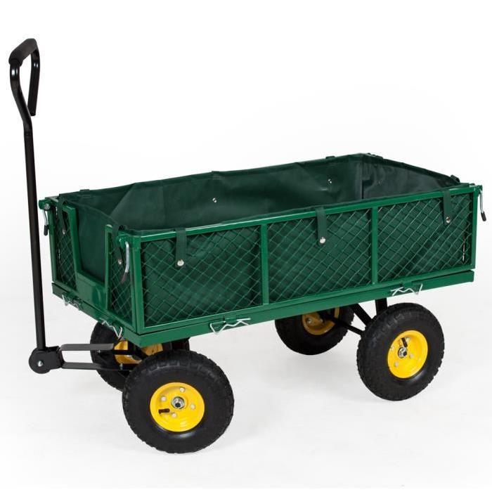 chariot de jardin 4 roues comparatif des meilleurs mod les. Black Bedroom Furniture Sets. Home Design Ideas